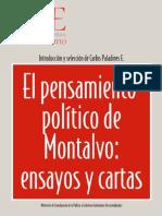 El Pensamiento Político de Montalvo