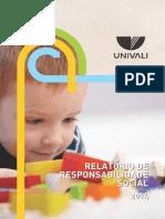 Balanco Social Univali - 2014