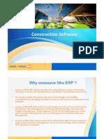 ConstructionConstruction ERP software   - eresource Nfra ERP Software