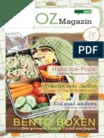 brandnooz NOOZ Magazin Ausgabe 08/2015