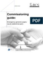 Commissioning Guide - Emergency General Surgery Acute Abdominal Pain (1)