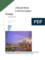 Why China Should Study Singapore