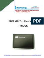 Fgtech Bdm Mpc5xx User Manual Truck