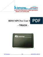 Fgtech Bdm Mpc5xx User Manual Truck