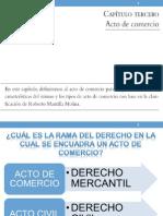 3. Acto de Comercio Por Marco Cortés