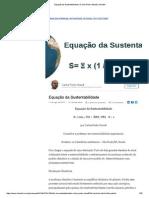 Equação Da Sustentabilidade _ Carlos Pedro Staudt _ LinkedIn