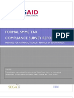 Formal SMME Tax Compliance Report USAID