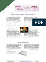 Editar y Publicar Un Libro