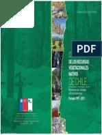 Catastro de Los Recursos Vegetacionales 1997-2011 Portada