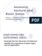 Module 1 - Von Neuman Architecture and Basic Gates