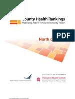County Health Rankings 2010_NC