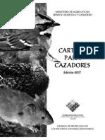 Cartilla Cazadores Chile