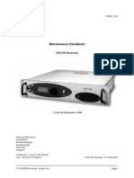 Pae Receiver Type t6r Maintenance Handbook