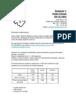 Precios Agroturismo Globo [Modo de ad