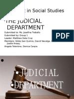 27384743 Judicial Dept by nikko cute & matthew pogi
