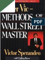 Sperandeo Victor Trader Vic Methods of a Wall Street Master