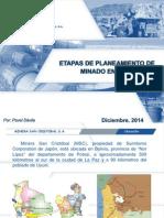 01 - Ing. Pavel Davila - Minera San Cristobal