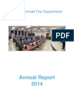 Cincinnati Fire Department Annual Report 2014