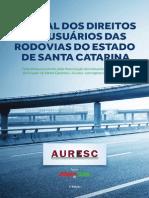 Manual dos direitos dos usuários das rodovias do estado de santa catarina