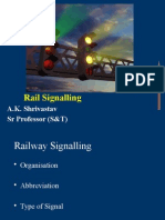 Signalling in IR SPST