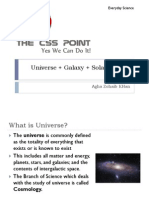 Universe-everyday science lecture
