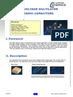 High Voltage ML Capacitors--TVs