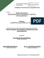 Tesis Mecatrónica 2012