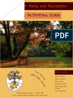 Fall 2015 Activities Guide