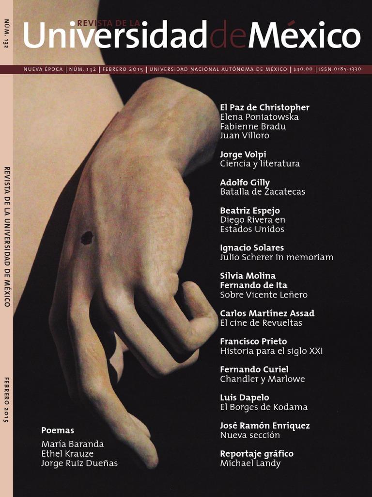 Revista UNAM. Jorge Volpi y Beatriz Espejo