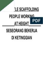 Dismantle Scaffolding