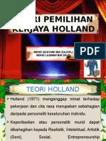edu3073 TEORI HOLLAND (RIASEC).ppt