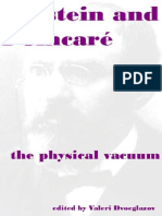 Einstein and Poincare_ the Phys - Valeri v. Dvoeglazov (Editor)