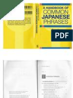 Common Japanese Phrases (Handbook)