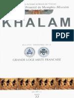 Khalam - Rite Ancien Et Primitif de Memphis-Misraïm