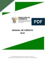 Manual de Credito 2015