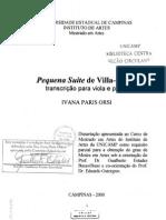 Tese - Pequena Suite - Viola Orsiivanaparis