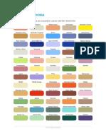 Carta de Colores Anypsa Maestro