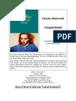 Charles Bukowski - Ausgeträumt