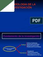 Fundamento y Generalidades de La Investigación