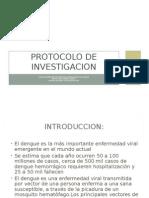 Protocolo de Investigacion - dengue
