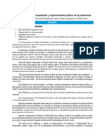Resumen y del Capítulo 3 del libro Entre El Estado Nación y El Estado Conquistador de Andrés Pérez-Baltodano, Por René Pérez Vázquez.
