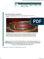 11' Dia Expansion Joint for a Thermal Power Plant04082015