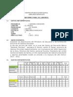 Informe Final Labores