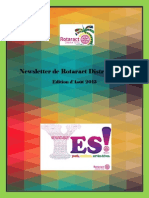District Newsletter August 2015 (French)