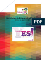 District Newsletter July 2015 (French)