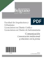 Isoardi - Comunicación institucional y relaciones con la prensa