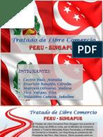 Tratado de Libre Comercio Perú - Singapur