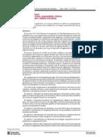 Decreto 391-2011, De 13 de Septiembre, Uniforme Cuerpo de Agentes Rurales de Cataluña