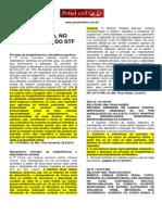 STF e STJ- Princípio Da Insignificância- PDF