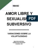 amor libre y sexualidad